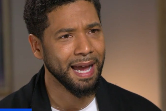 Image result for jussie smollett crying