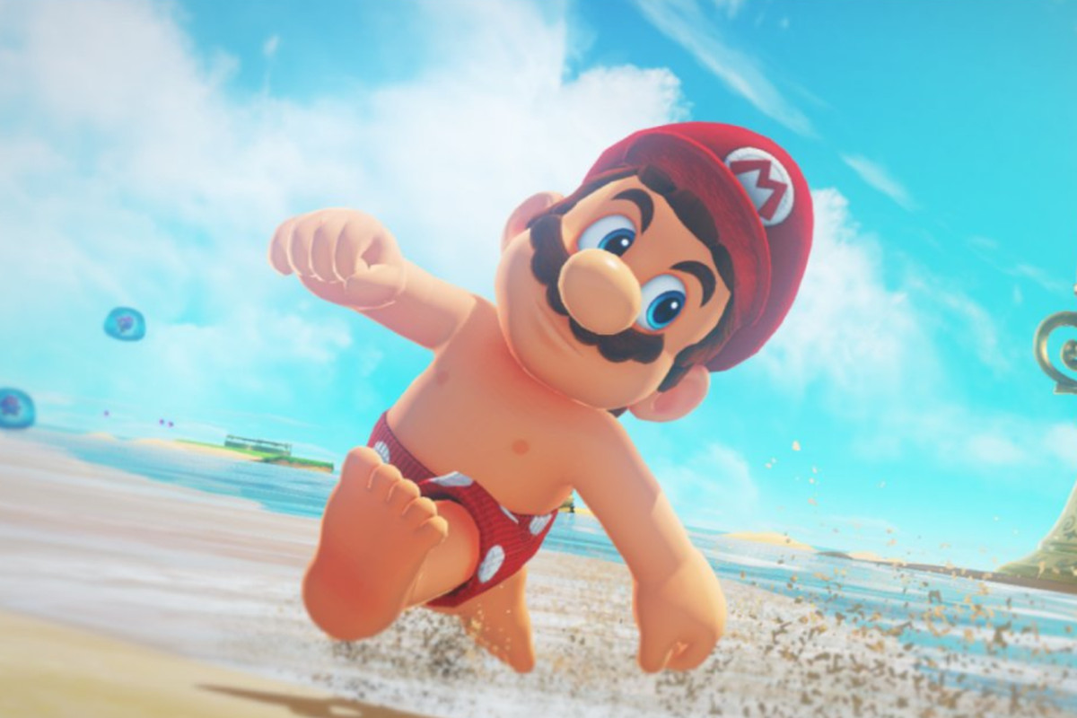 Shirtless Mario Is Another Example Of Nintendo Trying To