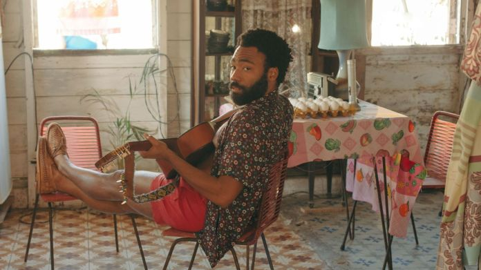 Donald Glover as Deni in Guava Island.
