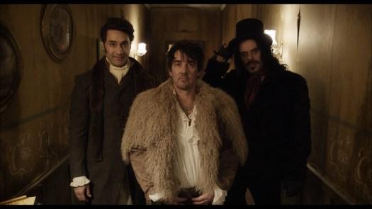 Three vampires pose