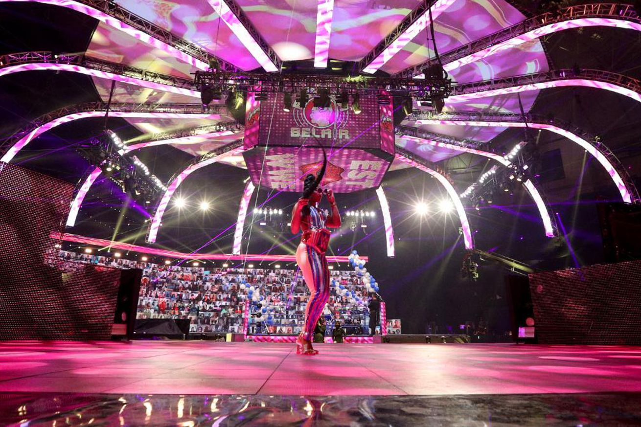 Bianca Belair's celebration was the highlight of SmackDown
