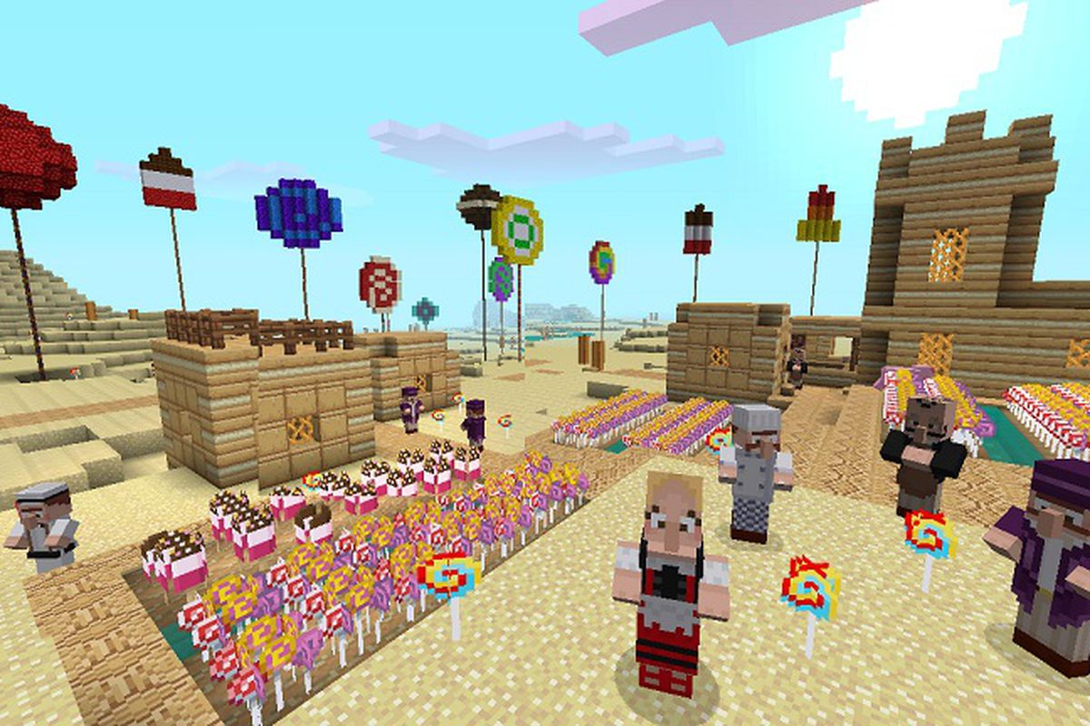 Make Everything Look Like Candy With Minecraft Xbox 360s