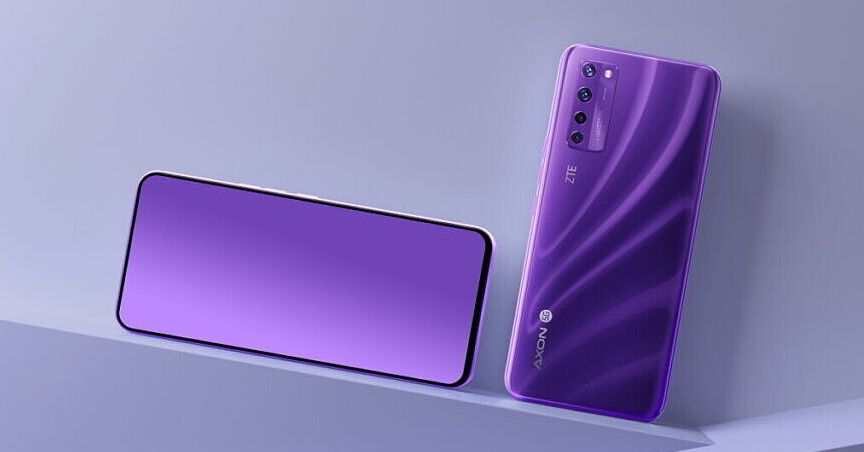 ZTE announces world's first phone with an under-display selfie camera