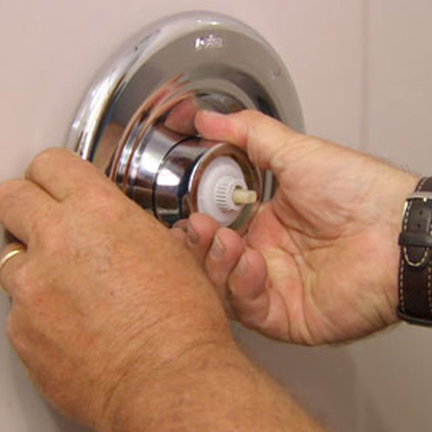 how to replace shower faucet this old