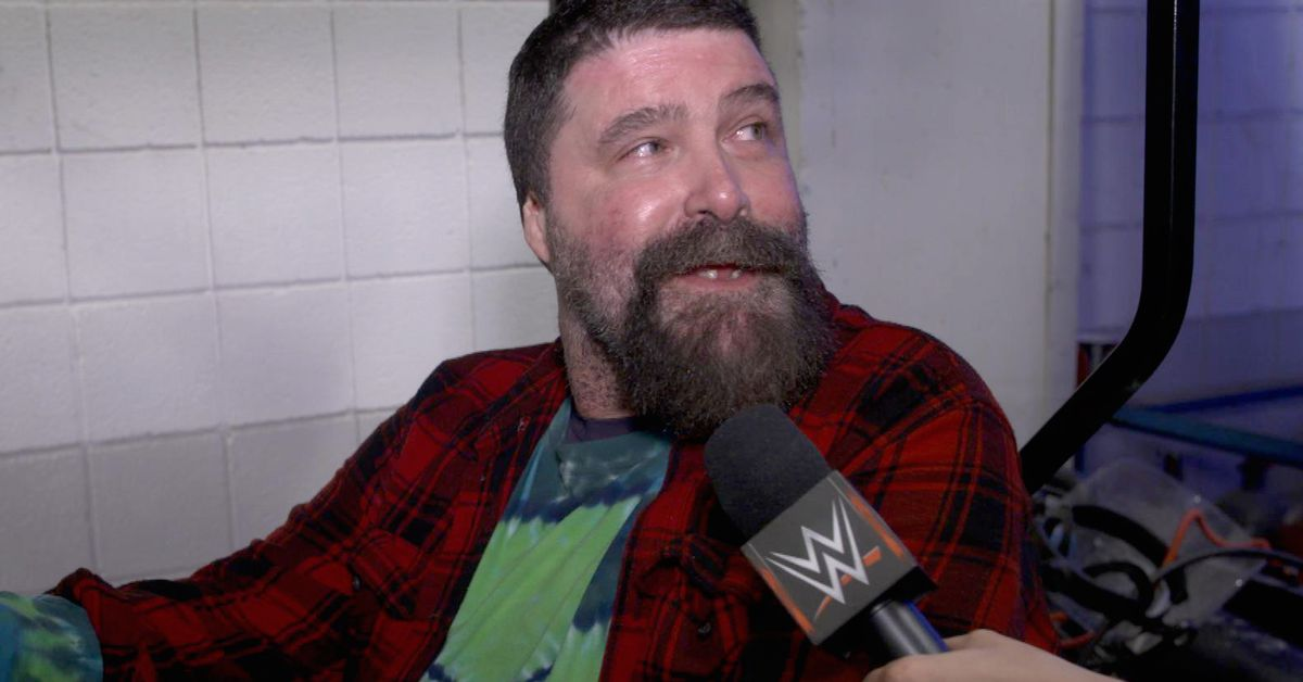 Mick Foley with a good but low priority take on the WWE Hall of Fame