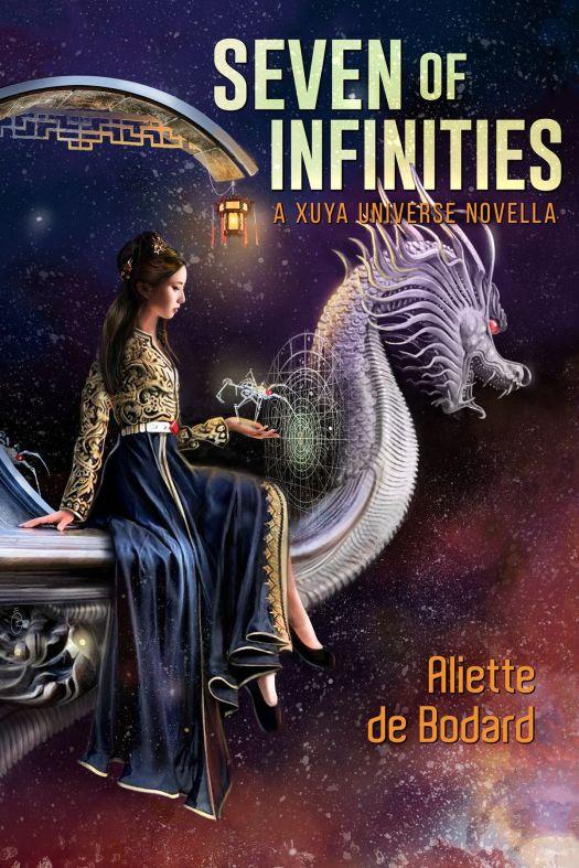 The cover of Seven of Infinities by Aliette de Bodard