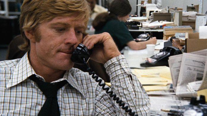 All the President's Men: Robert Redford on the phone