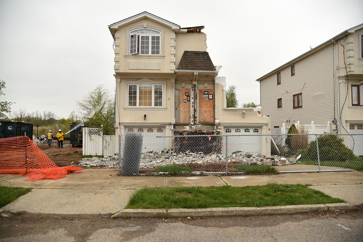 Staten Island neighborhoods damaged by Hurricane Sandy may be     Nathan Kensinger