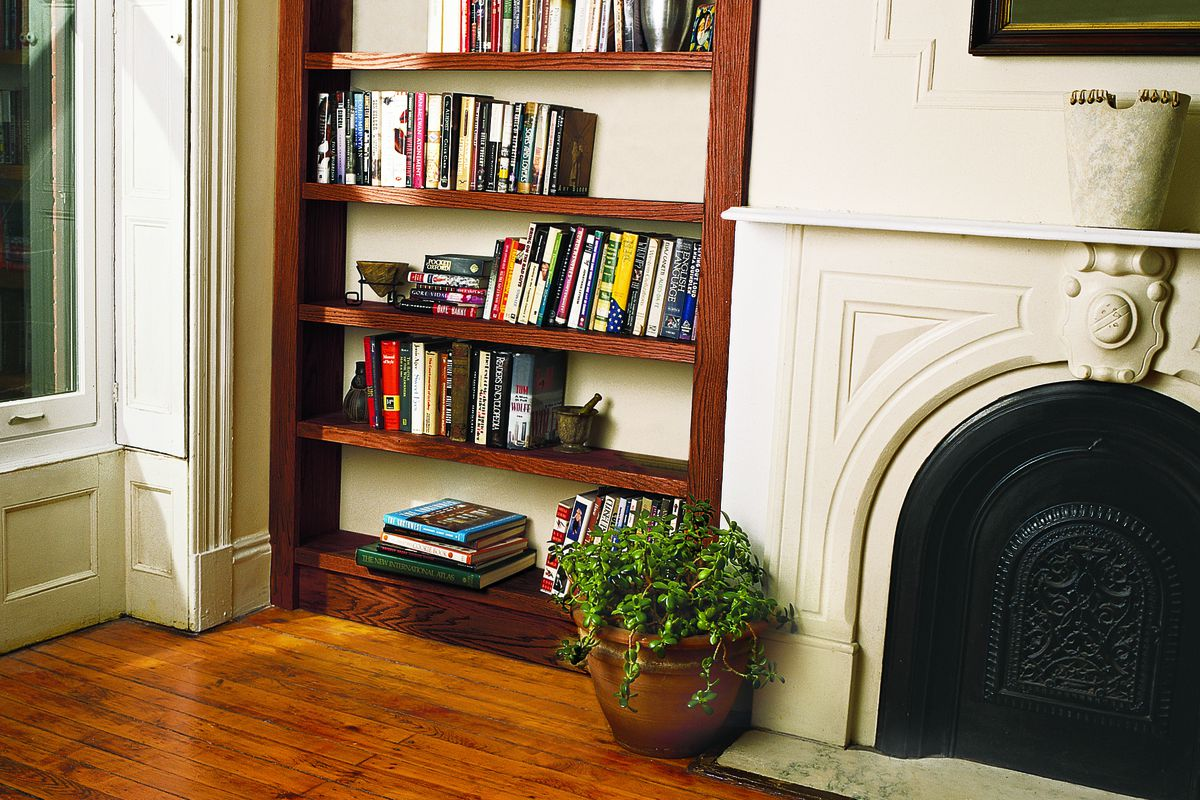 how to build a bookshelf in 8 simple