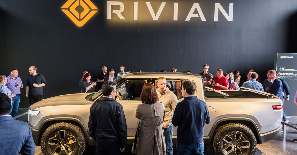 Here's how much Rivian's electric truck and SUV will cost when they come out in 2021