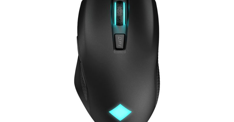 HP's Omen Vector Wireless is a long-lasting mouse with USB-C charging