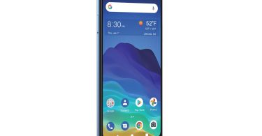 ZTE is selling a 0 phone with wireless charging through Visible and Yahoo Mobile