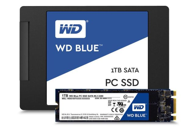 WD الزرقاء 1 تيرا بايت
