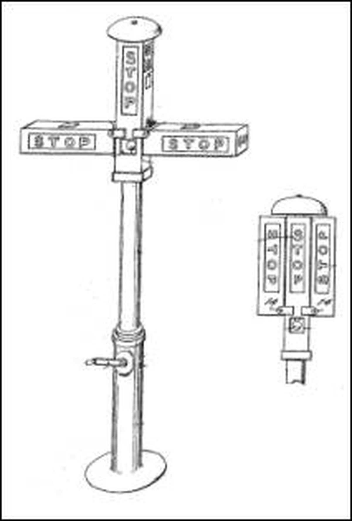 When Was The First Traffic Light Installed Today In