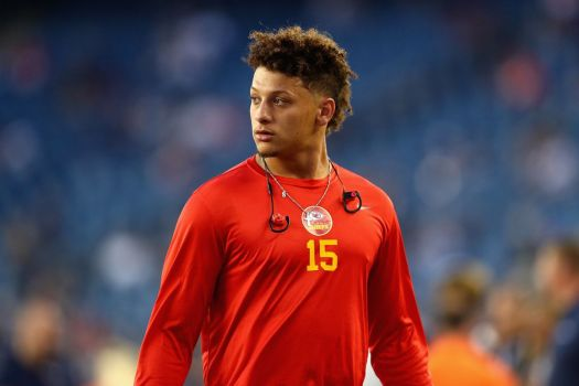 Chiefs QB Patrick Mahomes is embracing everything Andy ...