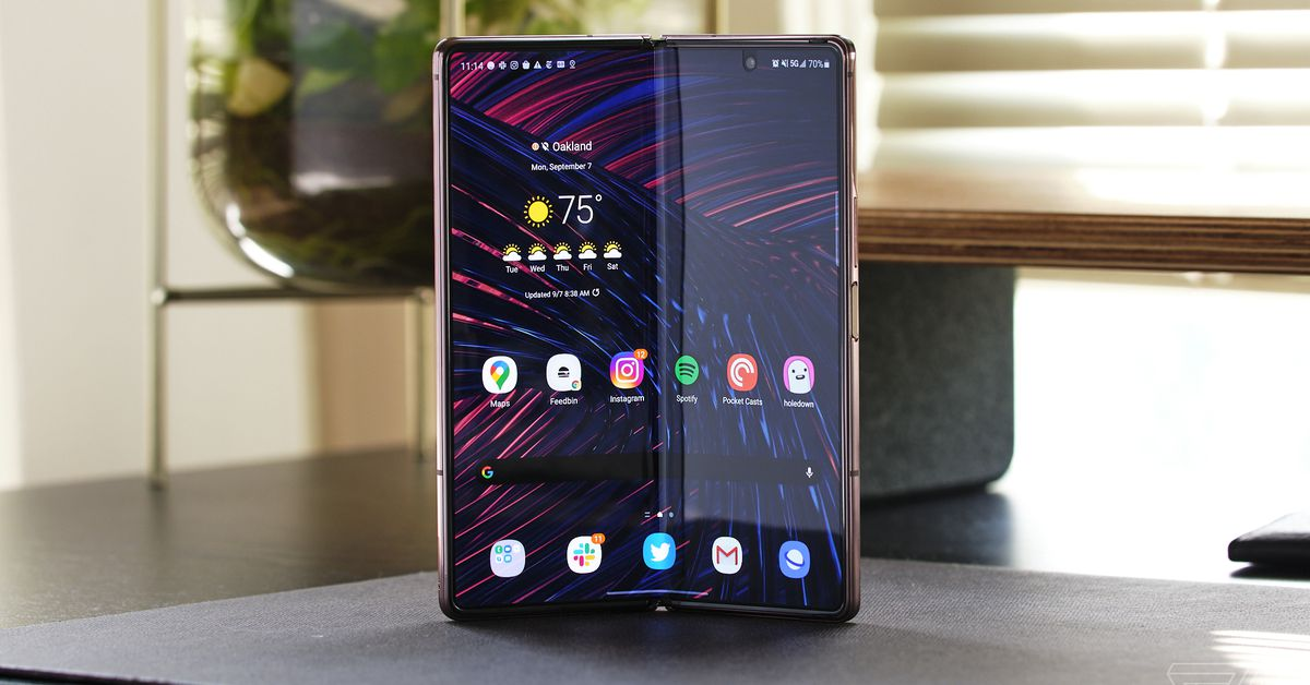 Samsung's follow up to the Z Fold 2 could be smaller, but maybe not in the dimension you want