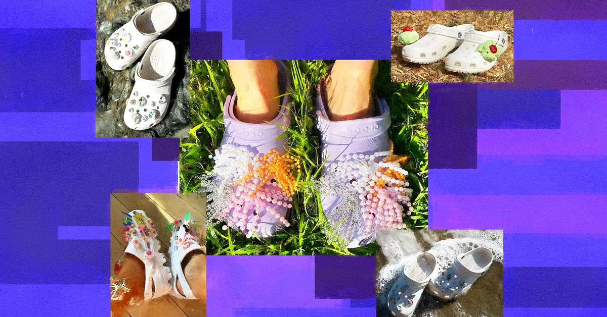 Handmade Jibbitz for Crocs are popping up on Instagram