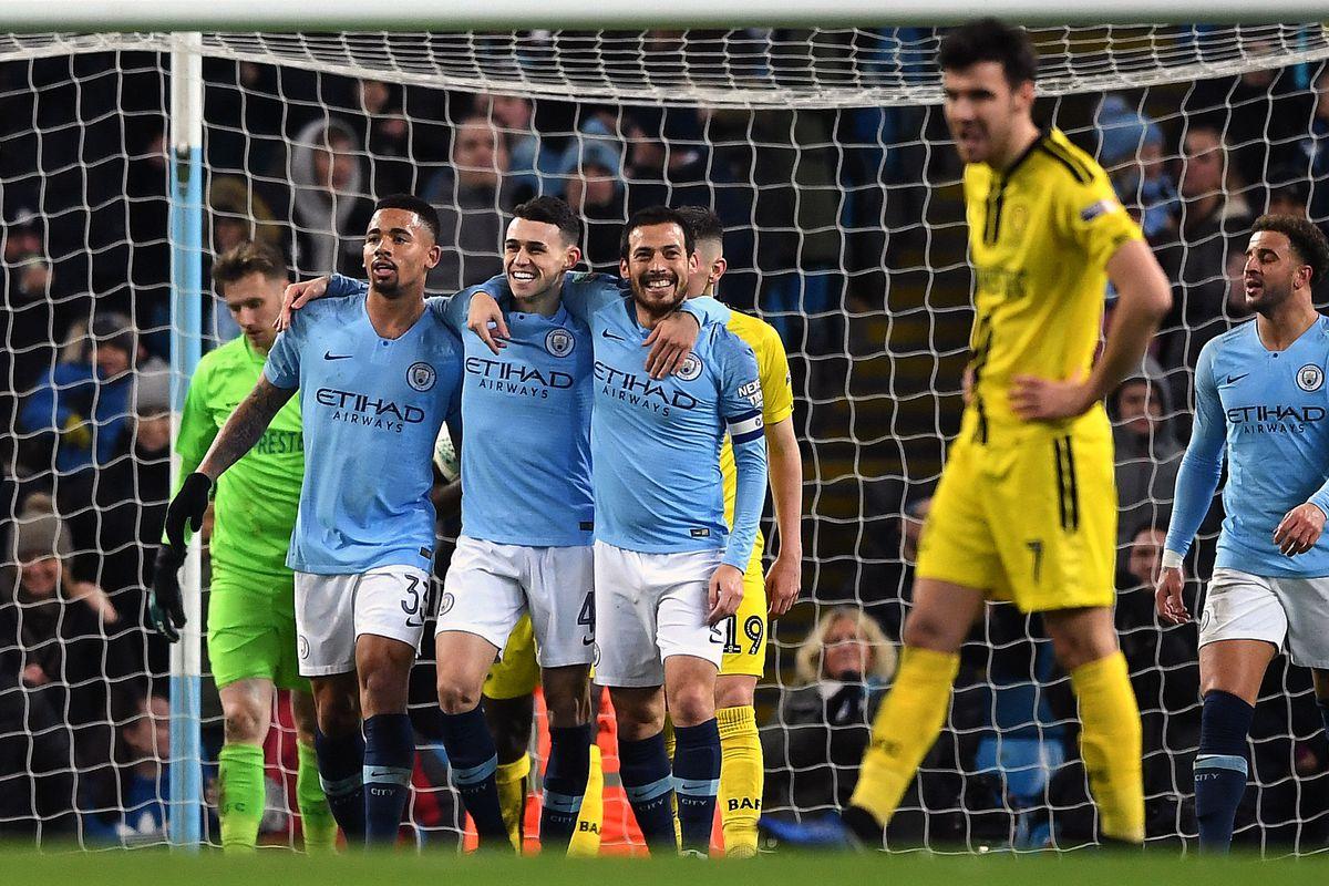 Manchester City Blast Burton Albion   In Caraboa Cup Reaction Tweets