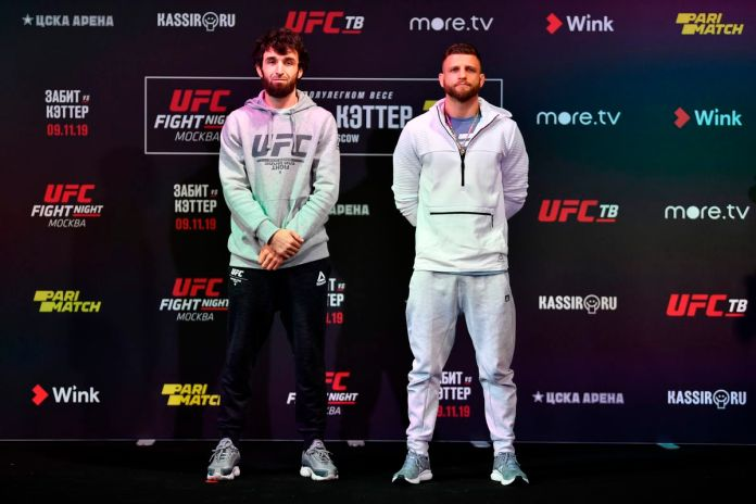 UFC Fight Night 163 card: Zabit Magomedsharipov vs Calvin Kattar