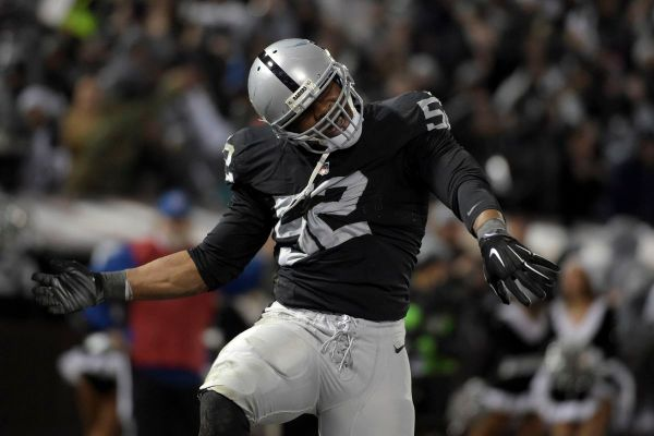 Khalil Mack is making his claim as the NFL's top defensive ...