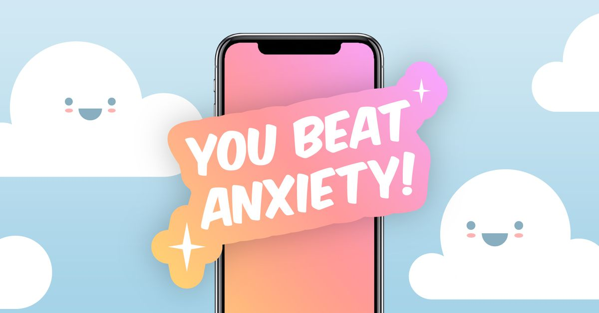 These apps make a game out of relieving anxiety. They may be onto something.