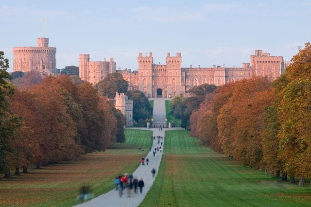 Windsor Castle, in all its majesty