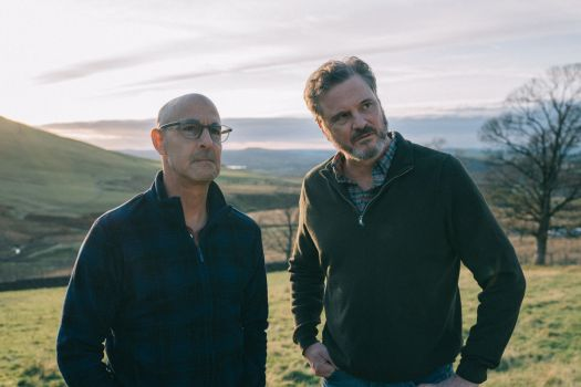 Colin Firth and Stanley Tucci in Harry Macqueen's Supernova