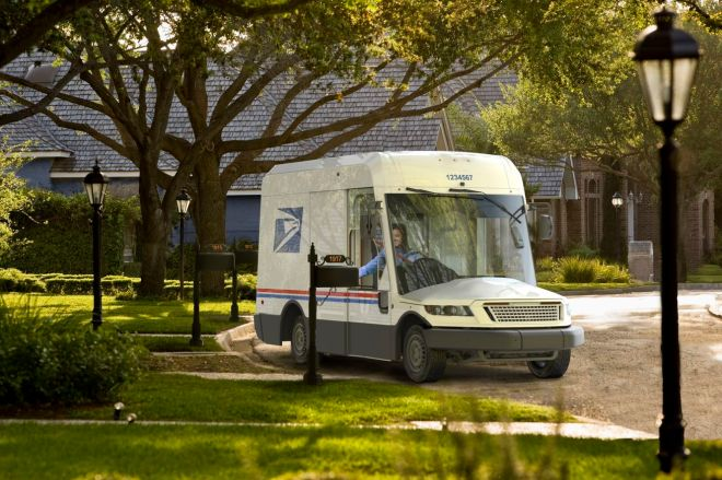 suburb2_9_scaled.0 USPS unveils next-generation mail truck with electric drivetrain option | The Verge
