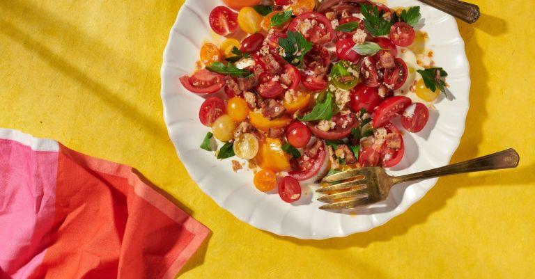 Recipe: Bacon, Lettuce, and Tomato Salad