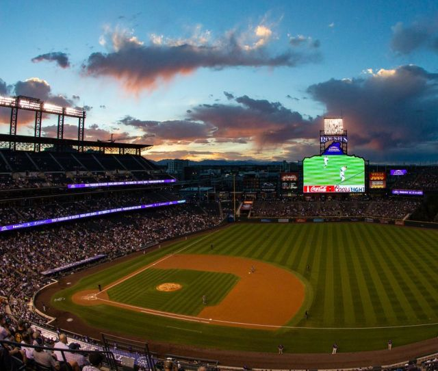 National League Division Series Brewers Vs Rockies Game  Dodgers Vs Braves Game