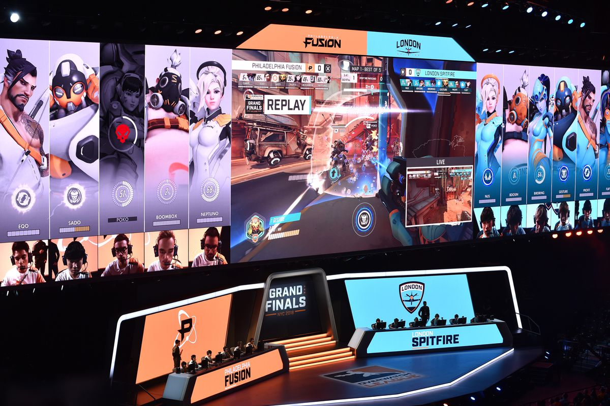 London Spitfire Win Overwatch League S First Championship