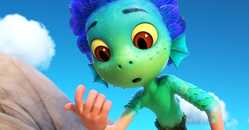 How Pixar created Luca's adorable, transforming sea monsters
