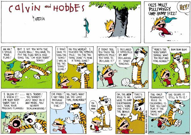 Calvin and Hobbes makes sense of quarantine life, 23 years later