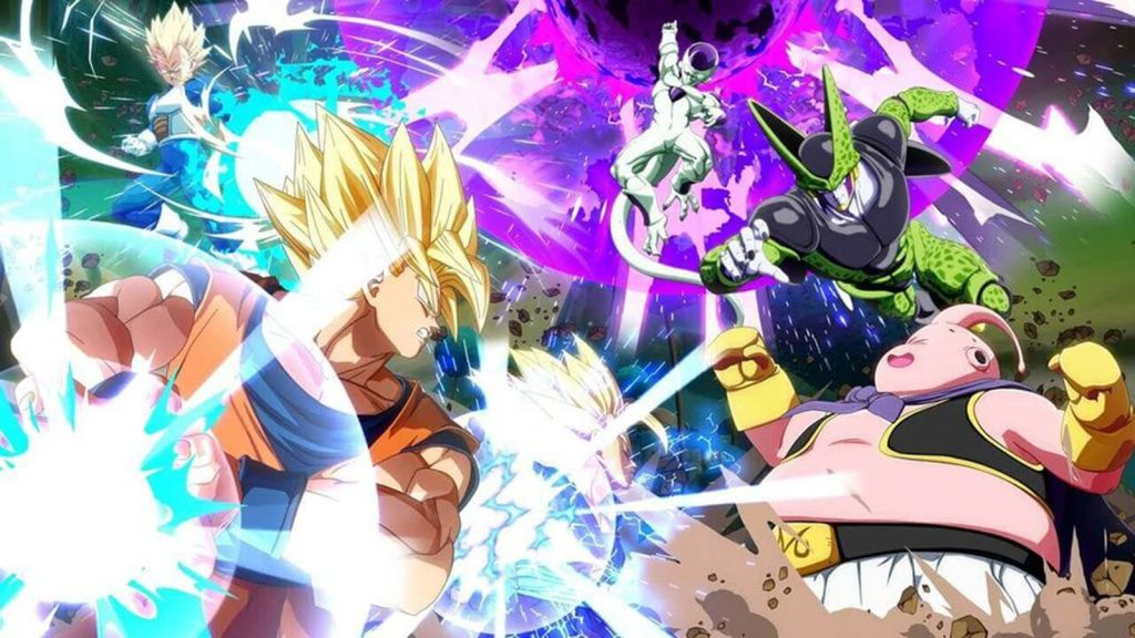 Image result for Dragon Ball Z 2018 Game