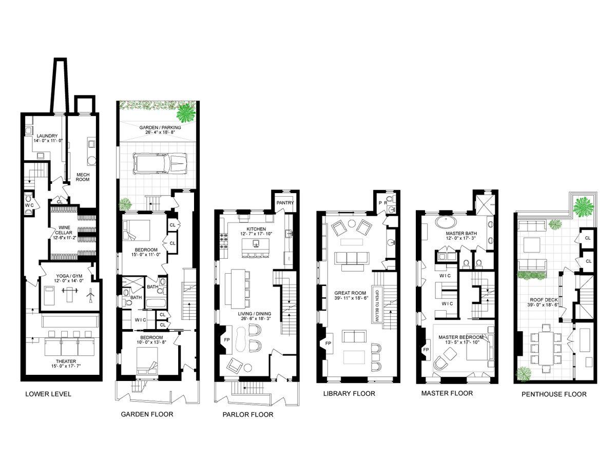 West Village Townhouse With Wabi Sabi Interiors Seeks 25m