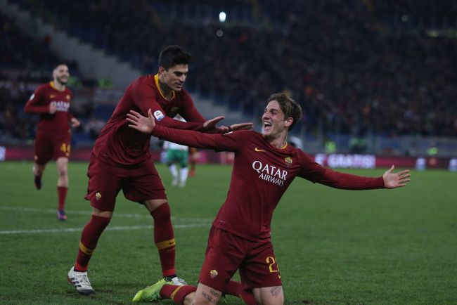 Image result for roma vs sassuolo photos