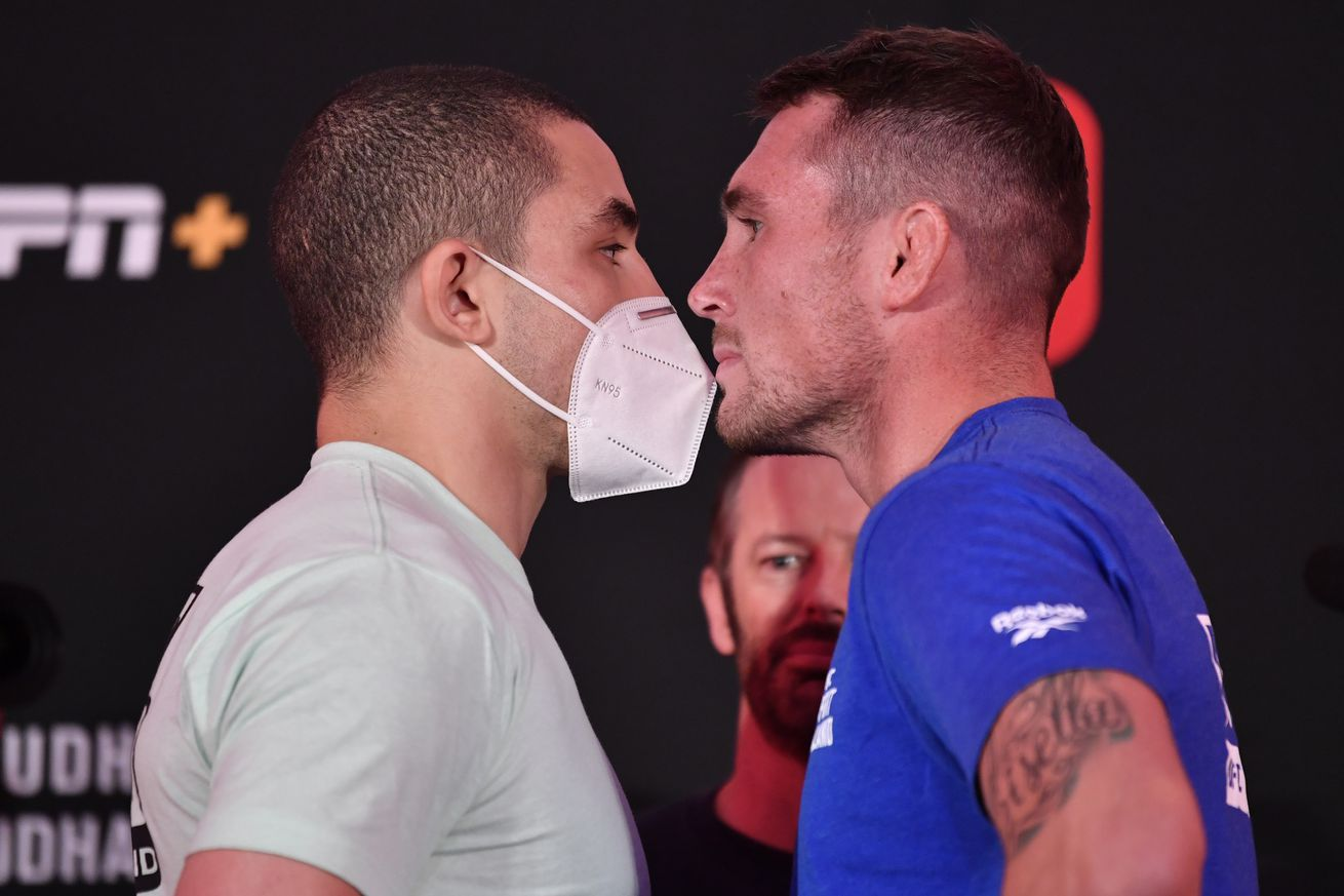 UFC Fight Night: Whittaker v Till Weigh-in