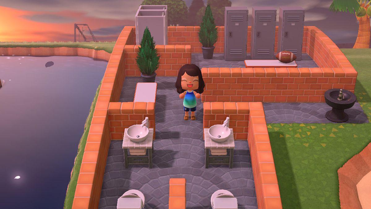 Animal Crossing New Horizons How To Create A Sports Paradise Sbnation Com