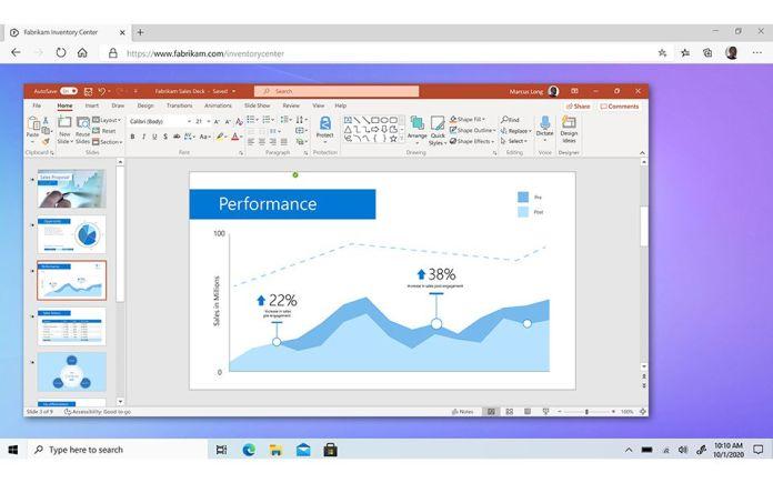 Windows 365 streams Windows to a web browser.