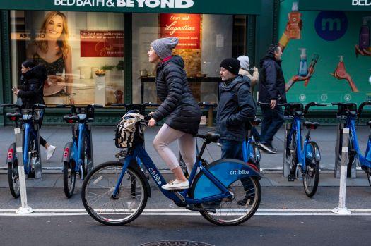 Citi Bike Bicycle Sharing Program In New York City