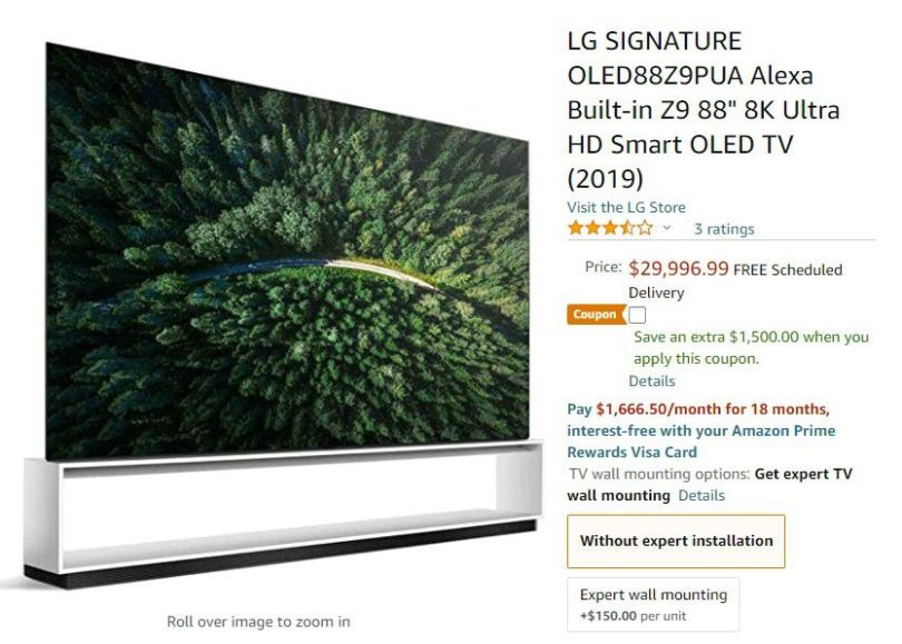 lg oled what a savings 1500 off