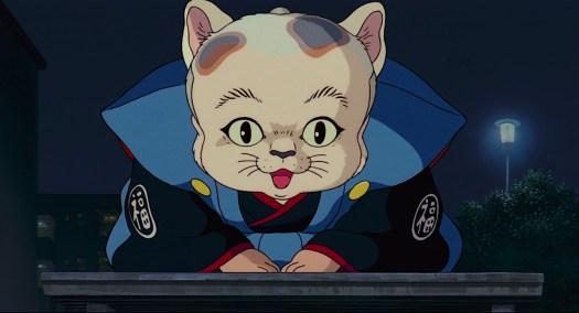big cat from pom poko