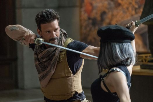 Frank Grillo as Roy Pulver in Joe Carnahan's Boss Level