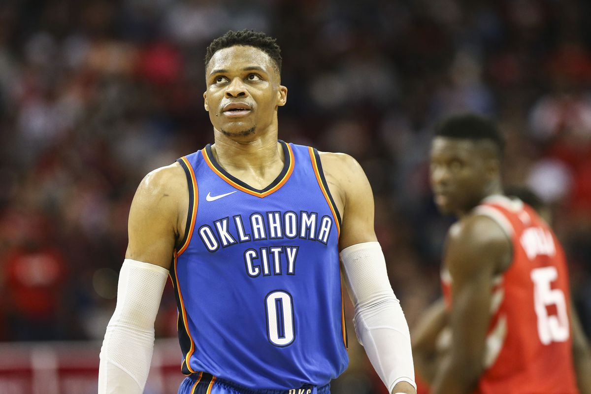 Russell Westbrook Is First Player To Average A Triple