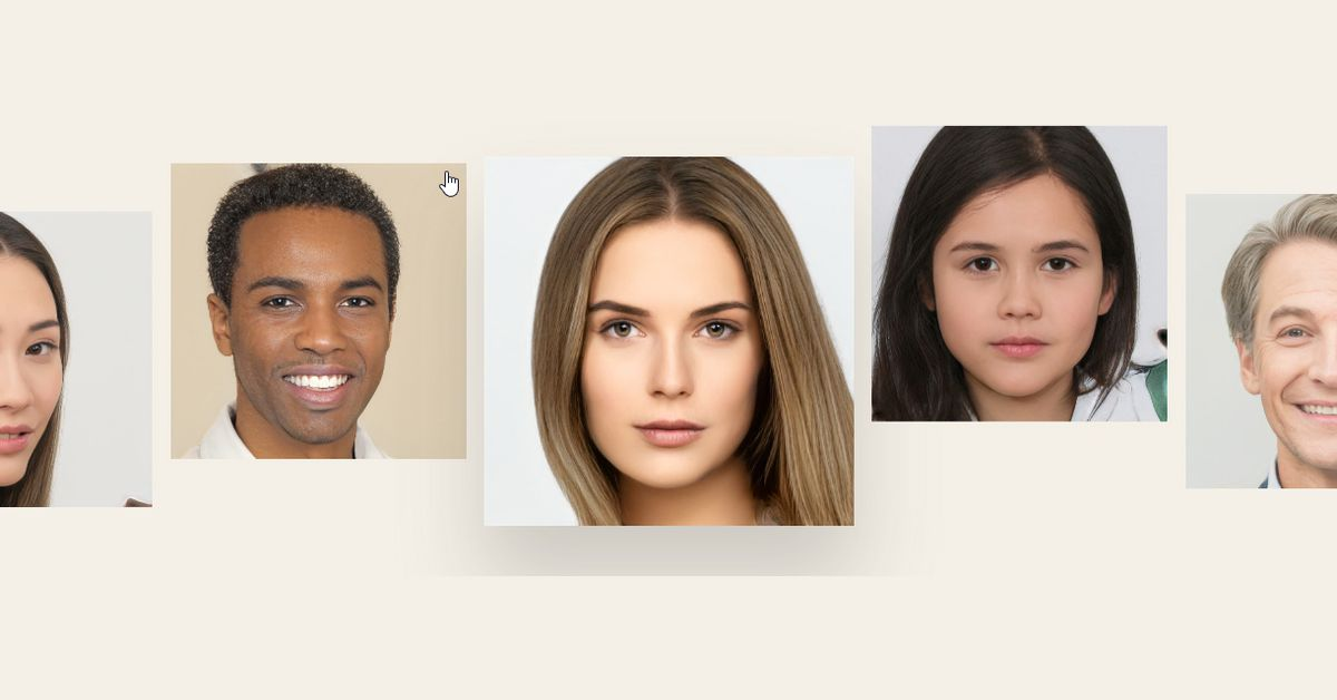 100,000 free AI-generated headshots put stock photo companies on notice