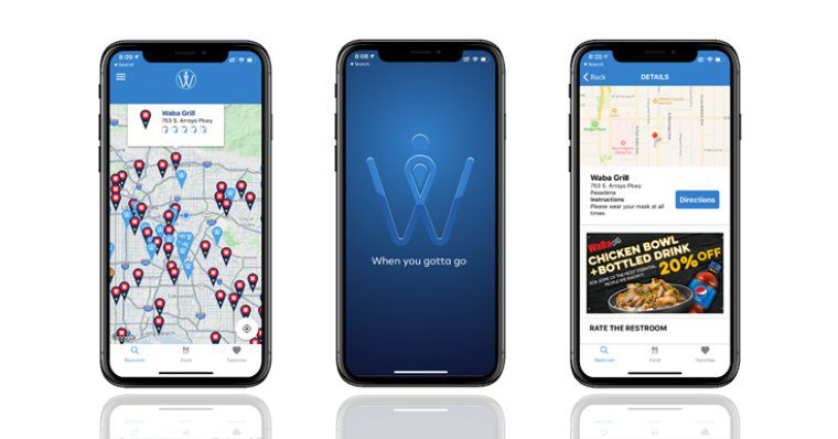 A new app helps gig workers find where to whizz