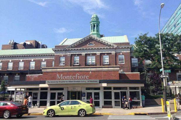 Montefor Medical Center in The Bronx.
