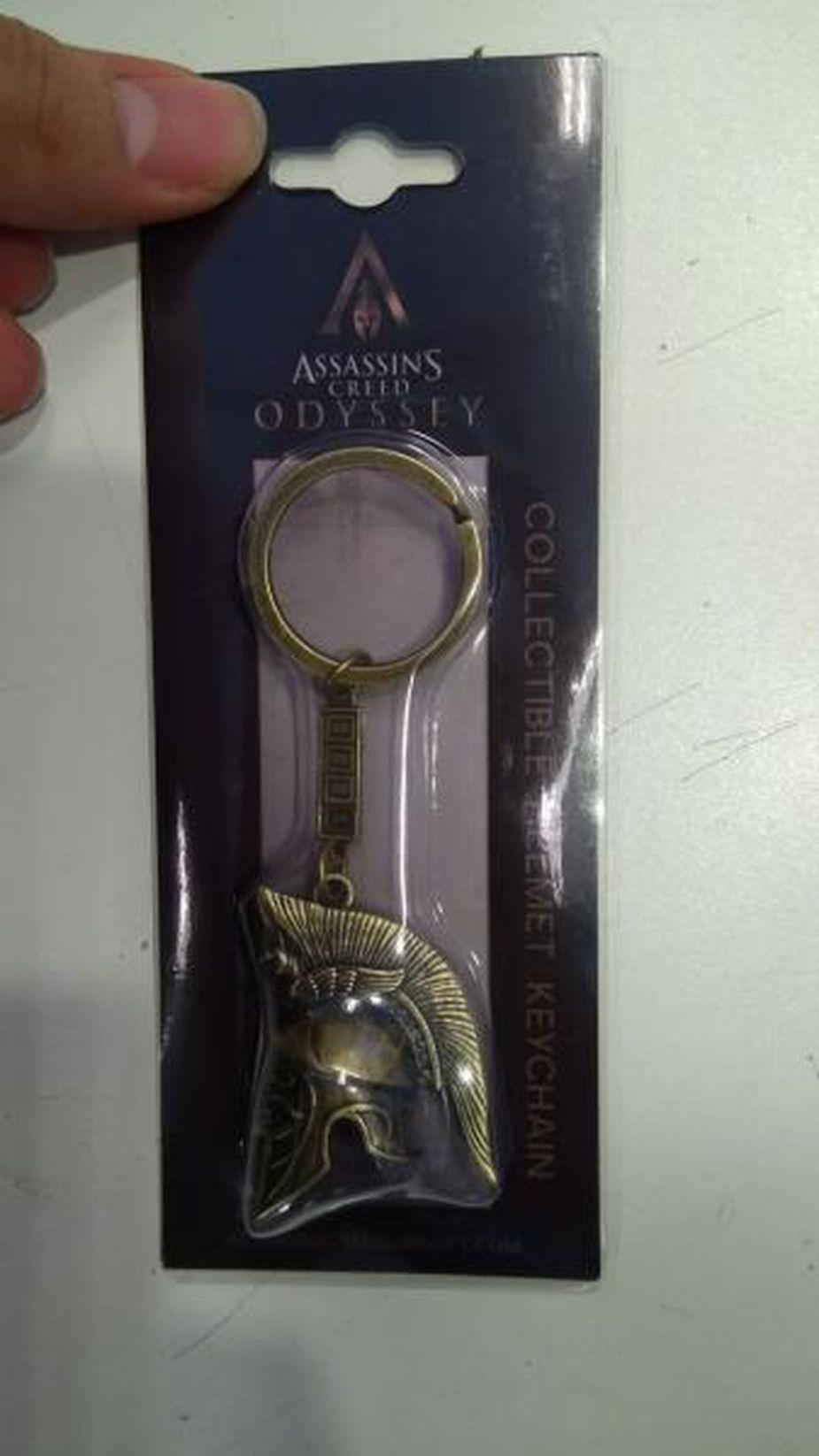 an Assassin's Creed Odyssey keychain