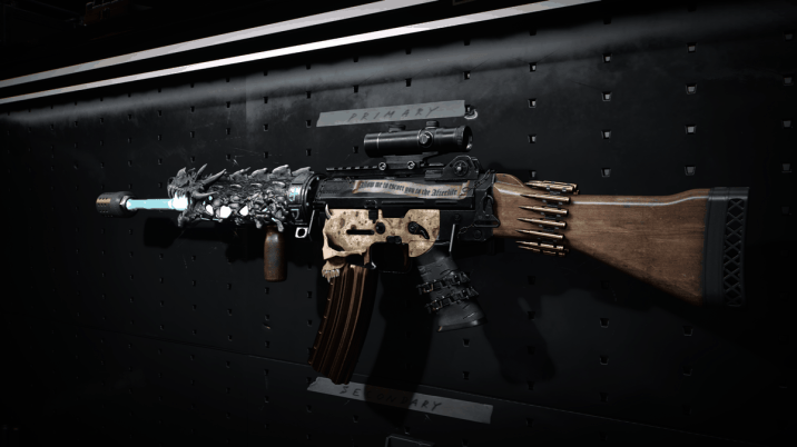 A Gunsmith Custom weapon from Call of Duty: Black Ops Cold War