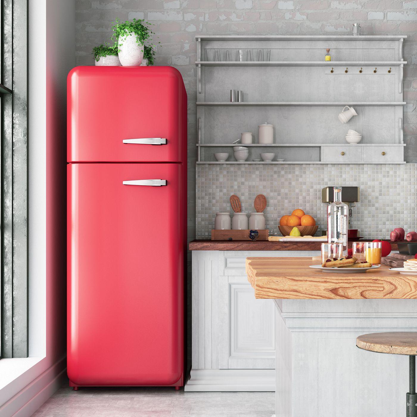 kitchen appliances with paint